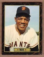 Willie Mays '66 San Francisco Giants Ultimate Baseball Card Collection #36