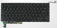 "APPLE MACBOOK PRO UNIBODY 15"" A1286 KEYBOARD UK LAYOUT 2009 2010 2011 2012 F130"