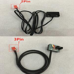 For Treadmill 2/3Pin Light Sensor Tachometer Magnetic Induction Speed Sensor Kit