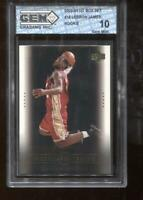 Lebron James RC 2003-04 Upper Deck Box Set #18 Rookie GEM MINT 10