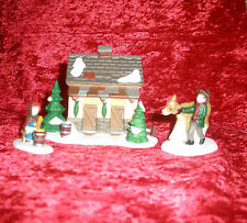 """Dept. 56 Heritage Village Collection """"Tending The New Calves"""""""