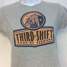 Third Shift Band of Brewers T Shirt Ladies M NEW Ships Free