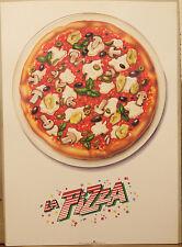 (PRL) PIZZA FOOD ROMAGNOLI DANROSE VINTAGE AFFICHE POSTER ART PRINT COLLECTION