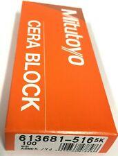 "4101-0772 .500/"" RECTANGULAR GAGE BLOCK GRADE 2//A+//AS 0"