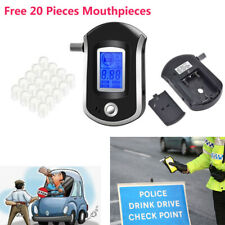 Professional Breath Blood Alcohol Tester Blow-In Breathalyzer Digital Device SAL
