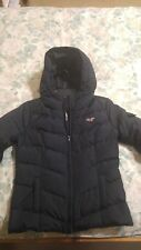 Hollister Ultimate Down Lightweight Women's Jacket Small Black New without tag