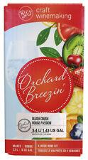 Orchard Breezin' Blush Crush Wine Making Ingredient Kit