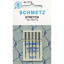 Schmetz Stretch Machine Needles: Size 90/14 Pack of 5