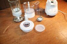 Cuisinart BFP-703 Smartpower Duet Blender w/ Glass Jar & Food Processor White