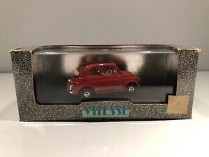 1/43 VITESSE Voiture Miniature FIAT 500 OPEN ROOF