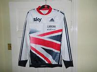Team GB SKY cycling bike jersey Adidas shirt top AERO cross country BMX