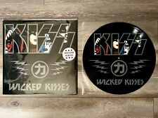KISS Wicked Kisses Picture Disc Vinyl LP LIMITED EDITION RARE NEW Wicked Lester