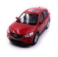 Mazda CX-5 Modellauto Auto Rot Maßstab 1:34 (lizensiert)