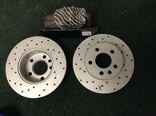 Meyle Front vw Transporter / eurovan solid  drilled brake rotors 115-521-1033