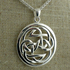 Pendant Keith Jack Imported Sterling Silver Celtic Lewis Knot