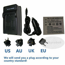 NP-40 Batterie + Chargeur Pour Fujifilm FUJI FinePix F480 F700 J50 V 10 caméra