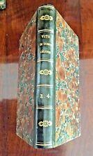 """1821 """" VITE e RITRATTI di UOMINI CELEBRI """" Bettoni , con 40 INCISIONI , vol.3-4"""