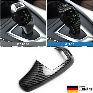 DE Carbon GWS Blende Schaltknauf Standard passt für BMW F20 F30 F32 F10 F06 X3