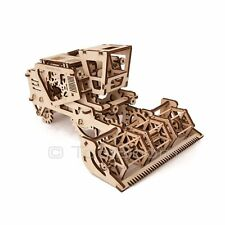 UGEARS COMBINE Mechanical 3D Wooden Puzzle Construction DIY Set
