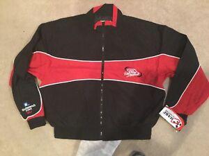 NASCAR Dale Earnhardt Goodwrench Plus Windbreaker Jacket New Vintage Large