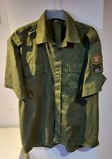 Croatian Army HV War period Croatia 1990s military summer shirt size 43 original