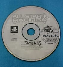 SONY PLAYSTATION 1 PS1 JUEGO PAL SOLO DISCO - ALL START RACING 2