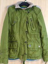 Ladies Next Green Jacket Coat Size 12