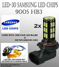 9005 HB3 Samsung LED-30 SMD White Canbus Headlight Xenon Light Bulb Hi Beam U584