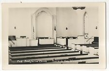RPPC First Presbyterian Church, PRAIRIE DU SAC WI, Wisconsin Real Photo Postcard