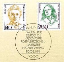 Berlin 1989: Cecile Vogt und Fanny Hensel Nr. 848 und 849! 40 €! 1A! 1911