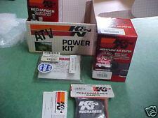 K&N POWER KIT 92-96 Yamaha YFB250 250 Timberwolf 8401 Jet Kit Filter PreCharger