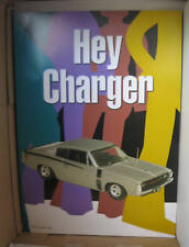 "BIANTE BROCHURE FLYER  CHRYSLER E49 CHARGER R/T ""HEY CHARGER"" SILVER SUIT 1/18"