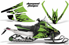 AMR SLED STICKER KIT ARCTIC CAT F SERIES GRAPHICS FLAME