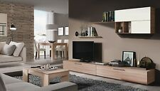 NEW Juliet Contemporary TV Unit And Lift Up Coffee Table Oak Melamine Veneer