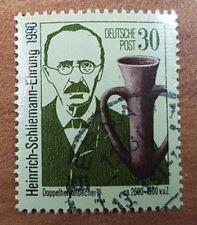 Briefmarke DDR 30 Pfennig Heinrich-Schliemann-Ehrung 1990
