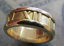 18k Tiffany & Company Atlas  ring 7 mm wide  size 5-1/2   Make Offer