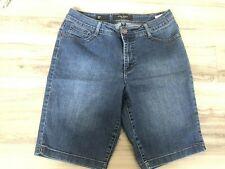 Nine West Jeans Bermuda Shorts medium  Wash Womans Size 10