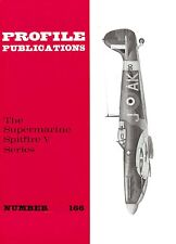 SPITFIRE V SERIES: PROFILE #166/ 18 PAGES inCl 6 NEWLY ADDED/NEW PRINT FACSIMILE