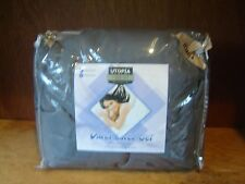 Utopia Bedding 3 Piece King Duvet Cover Set with 2 Pillow Shams, Grey