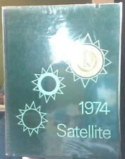 New ListingVintage John Glenn High School 1974 Satellite Yearbook With Lots Of Signatures