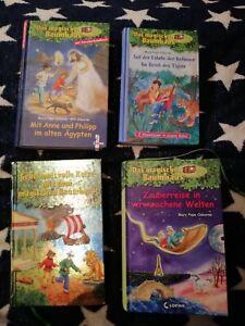 Das magische Baumhaus 4 Bücher / 11 Geschichten, Sammelband OHNE CD