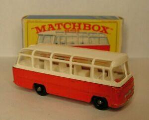 Lesney Matchbox No. 68 Mercedes Coach Bus & Original Box! MINT!