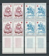CROIX ROUGE - 1960 YT 1278 à 1279 blocs de 4 - TIMBRES NEUFS** LUXE COTE 32,00 €
