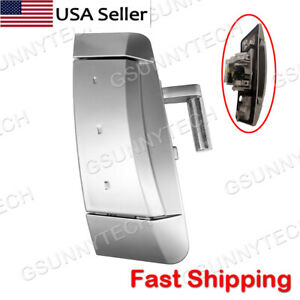 Fits 2003-2009 Nissan 350Z Right (Passenger) Outside Outer Silver Door Handle