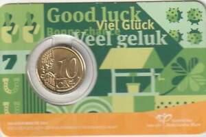 Nederland 2021 Coincard 10 cent - Geluksdubbeltje