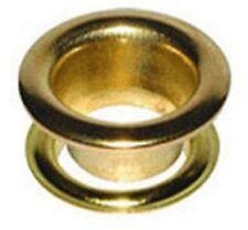 "W4 Brass Eyelets 3/8"" 9.5mm (20 pcs) 37659 *Multi buy Discounts*"