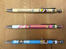 Capuchin Banana Mechanical Pencil, Propelling Pencil (0.5 mm) - 3 Piece