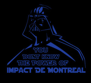Darth Vader Montreal Impact shirt Star Wars MLS Soccer Football de IMFC Canada