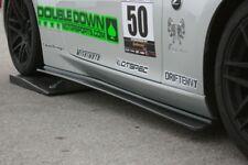 Carbon Fiber side diffuser skirts for Nissan 370Z Z34 by EVO-R