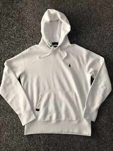 Polo Ralph Lauren Men's Performance Hoodie Sweatshirt White Size Medium M